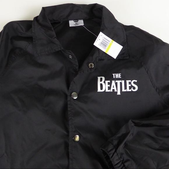 29bb57ef48 The Beatles Windbreaker Coaches Jacket Hybrid NWT